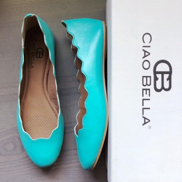 4290c8041 Ciao Bella Shoes   Chloe Leather Tiffany Size 75   Poshmark